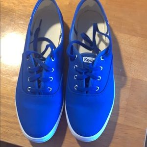 Ladies Keds cobalt blue sneakers